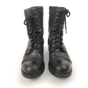 Steve Madden Tropa 2.0 Combat Boots Size 8.5M